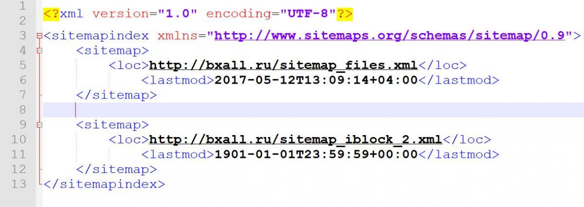Карта сайта или sitemap bitrix. Как сделать, пути решения